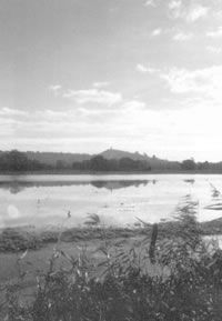 The Tor with a flood lake